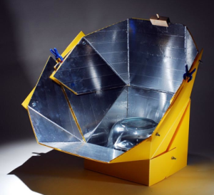 Sunflower Solar Cooker